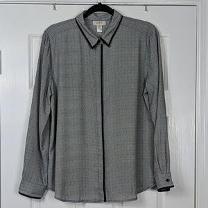 NWT LOFT Factory Button Down Shirt